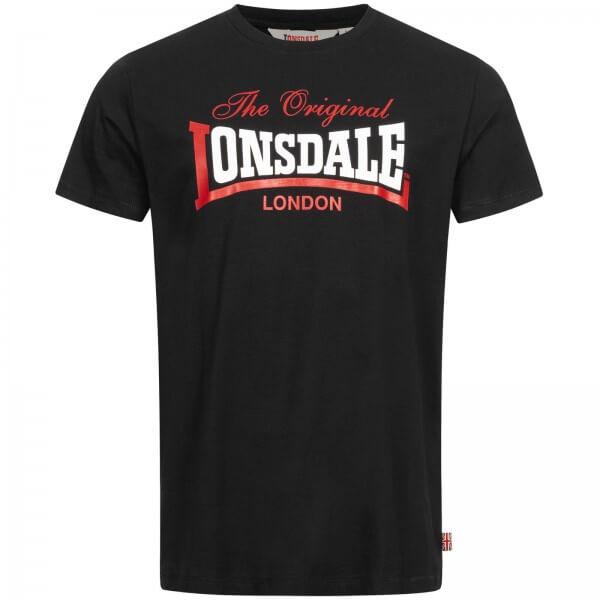 LONSDALE Herren T-Shirt Aldingham Black