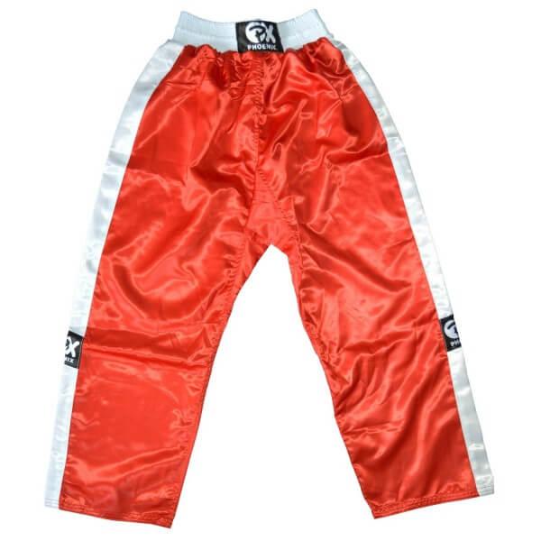 PHOENIX Kickboxhose TOPFIGHT, rot-weiß, 120