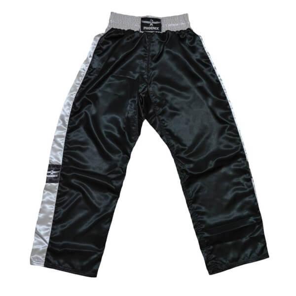 PHOENIX Kickboxhose TOPFIGHT, schwarz-grau, 120