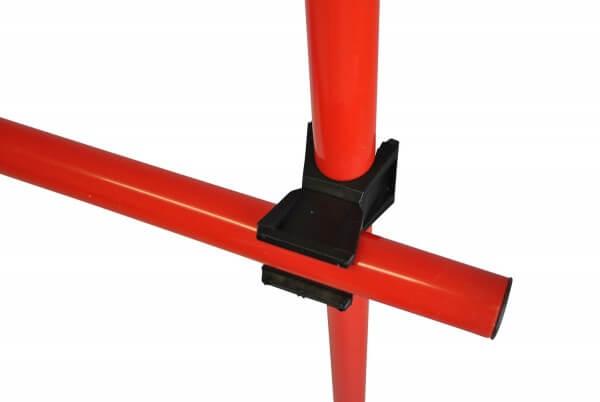 Stangenverbinder-Set, 10 Stück, drehbar für 2,5 cm Stangen Durchmesser