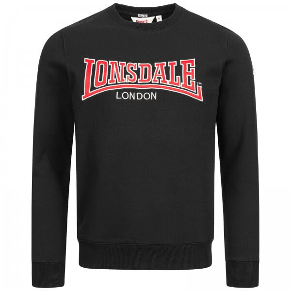 LONSDALE Pullover Berger LP181 Black