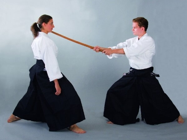 Hakama Gr 150/25 Kendo & Aikido schwarz