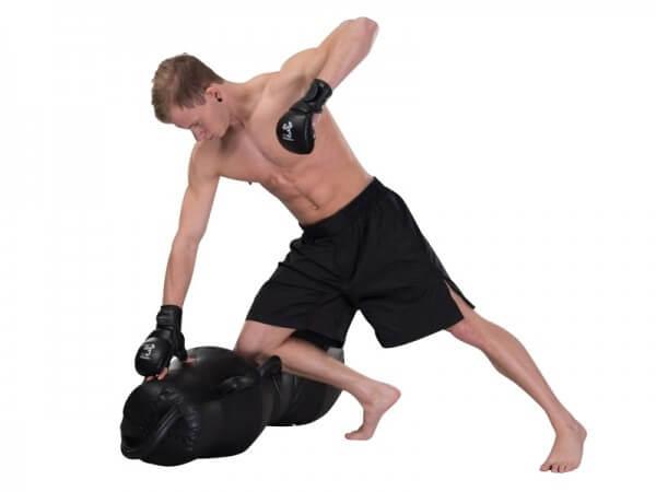MMA Shorts günstig weit geschnitten schwarz