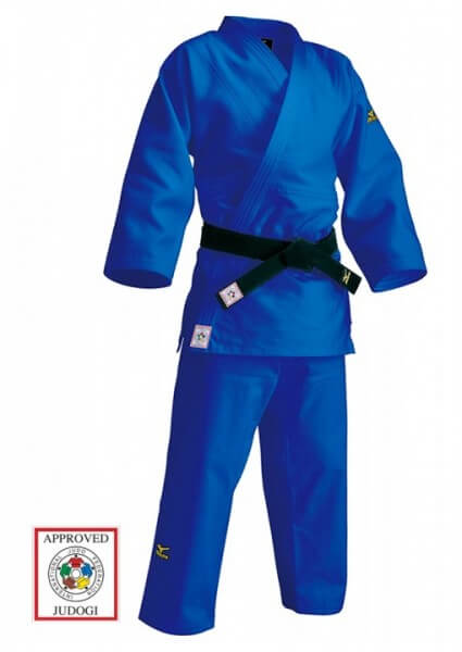 MIZUNO JUDO ANZUG YUSHO III, IJF, 750 G., Blau