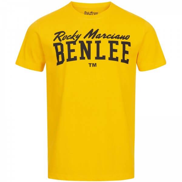 BENLEE T Shirt Logo Gelb