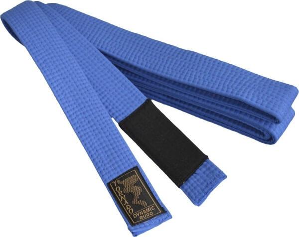 BJJ Gürtel blau, schwarzer Balken, 260cm