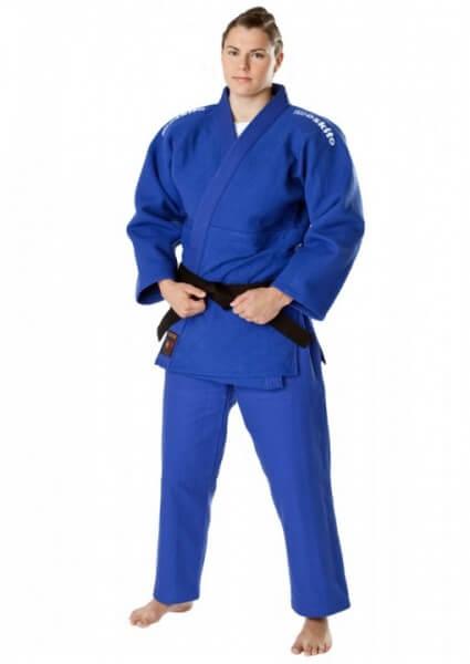 Judoanzug Moskito Junior Wettkampfanzug blau