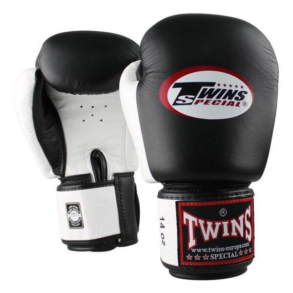 TWINS Boxhandschuhe BGVL-3 schwarz-weiss