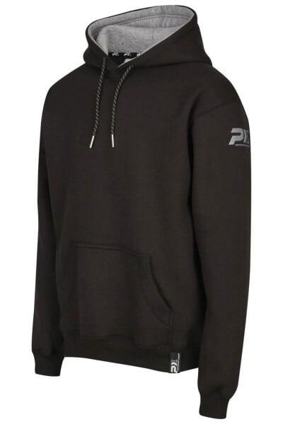 PX Hoodie Pullover schwarz-grau Gr. 116