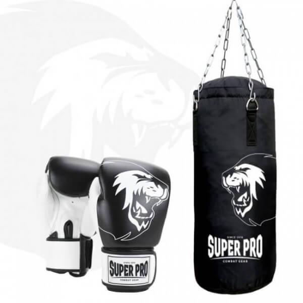 Super Pro Kinder Boxsack-Set Alter 4 bis 8 Jahre