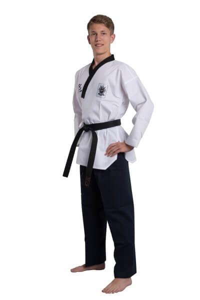 WACOKU WTF Taekwondoanzug POOMSAE DAN Dobok Männer