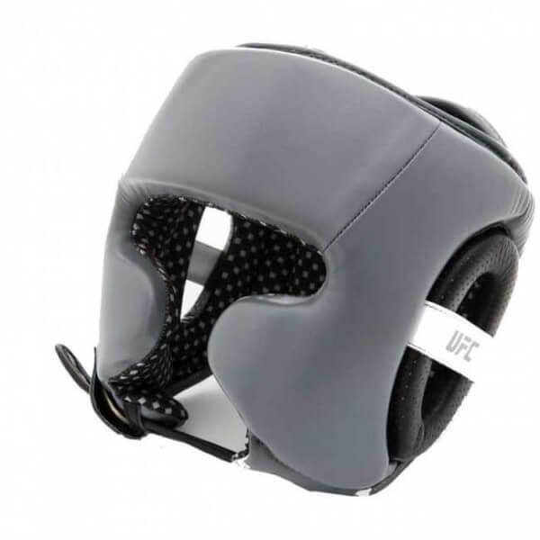 UFC Training Head Gear Leather grey/black