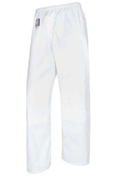 Judohose weiß, Baumwolle Gr 130