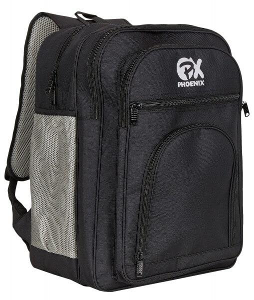 PX Rucksack, schwarz-grau, Kids, ca. 38x32x15cm