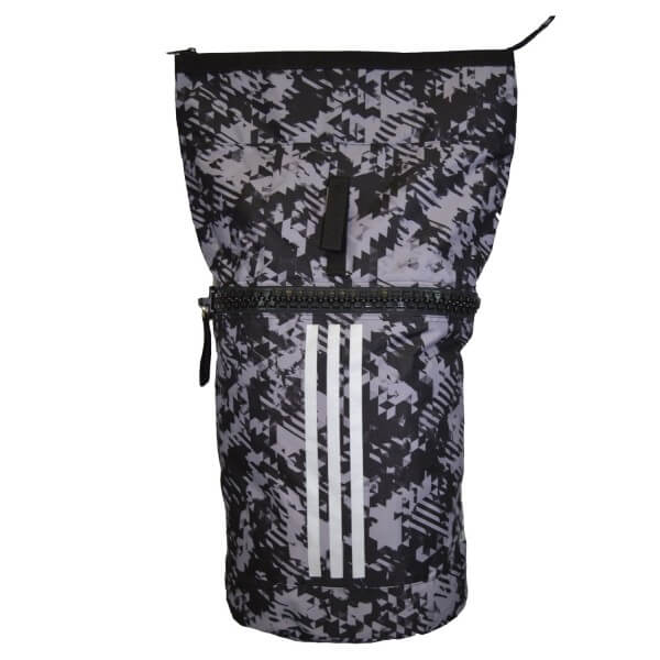 ADIDAS Military Seesack schwarz-camouflage-silber