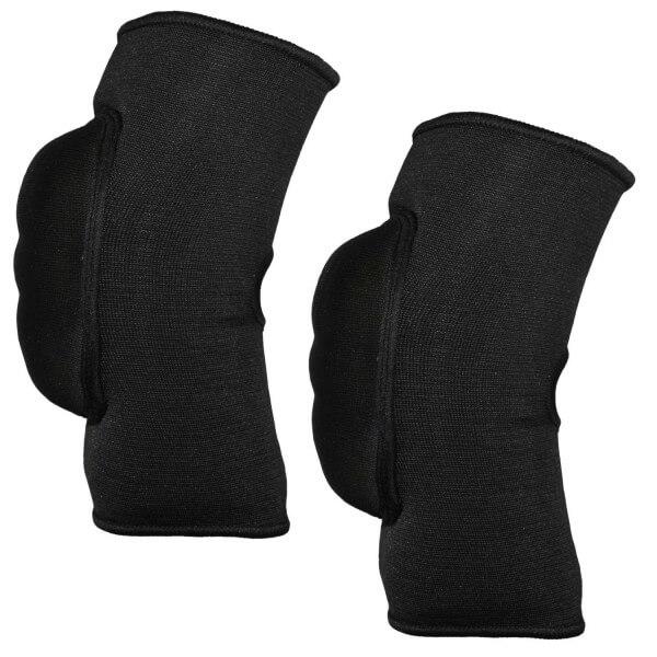 Ellenbogenschoner-Bandage schwarz Gr Junior