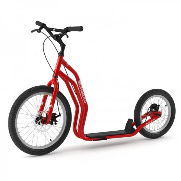 YEDOO MEZEQ Disc Roller RunRun 20/16 Zoll Dogscooter Red