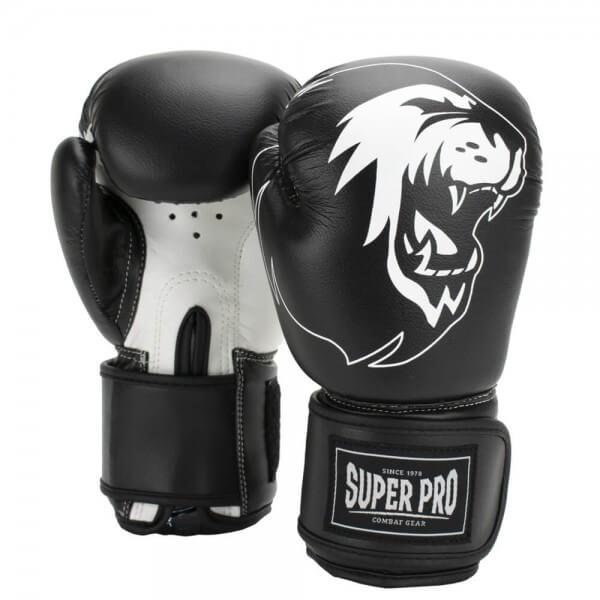 Super Pro Talent Kinder Boxhandschuhe black/white