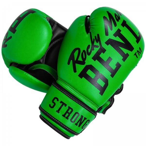 BENLEE Boxhandschuhe Chunky B Neon-Grün