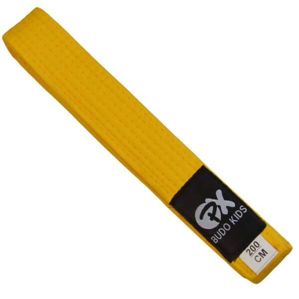 PX Budo Kids Softbelt, gelb, 200cm