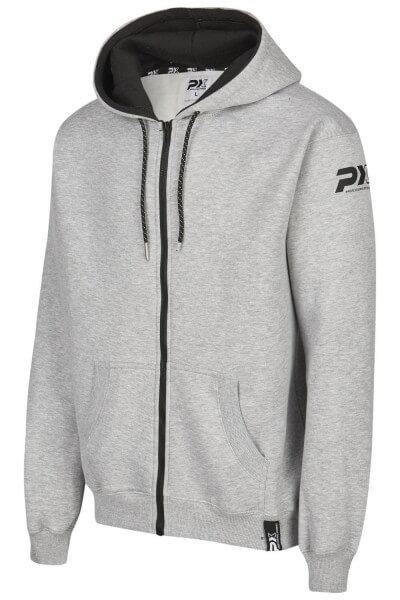 PX Zip Hoodie grau schwarz, Gr. 116