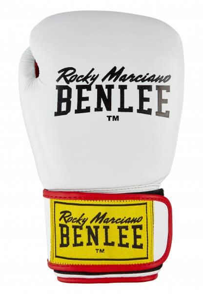 BENLEE Boxhandschuhe DRACO aus Leder White/Red