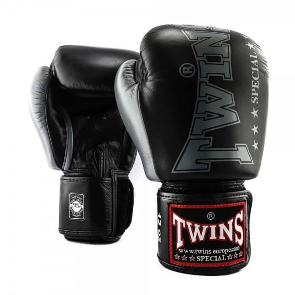 TWINS Boxhandschuhe BGVL 8 Schwarz