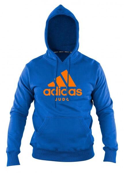 "ADIDAS Judo Hoody Community line ""Performance"" blue/orange"