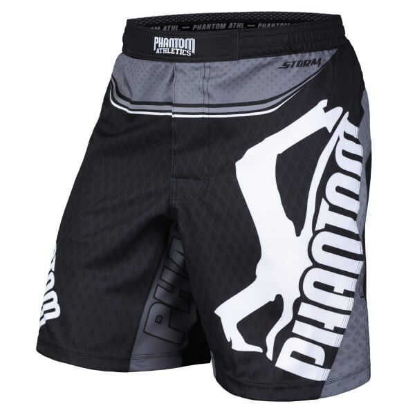PHANTOM MMA Fight SHORTS STORM NITRO BLACK