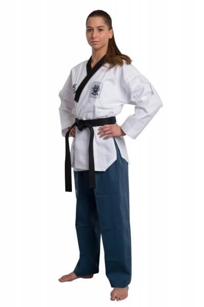 WACOKU WTF Taekwondoanzug POOMSAE DAN Dobok, Frauen