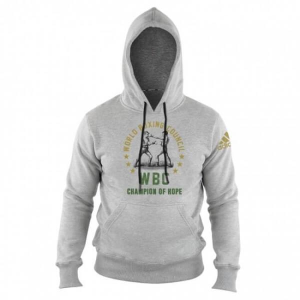 ADIDAS WBC Boxing Hoody Heritage - grey