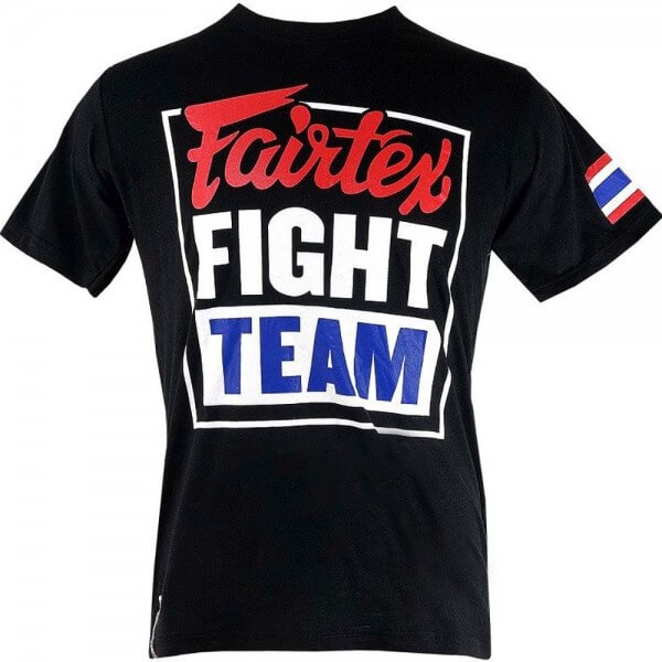 FAIRTEX T-Shirt Fight Team, schwarz