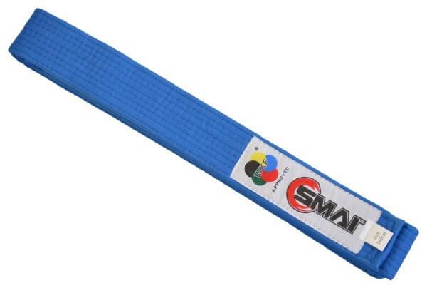 SMAI WKF Wettkampfgürtel blau, 240cm