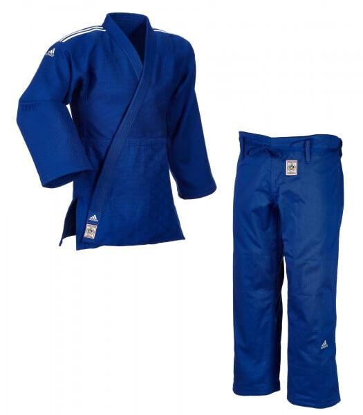 """ADIDAS """"CHAMPION II"""" IJF Judogi blau 150"""