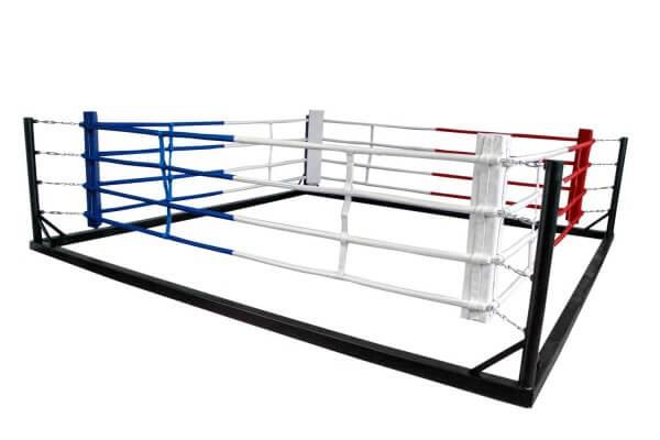 Box-Trainringsring 5x5 m Seile 4x4 m Flachring