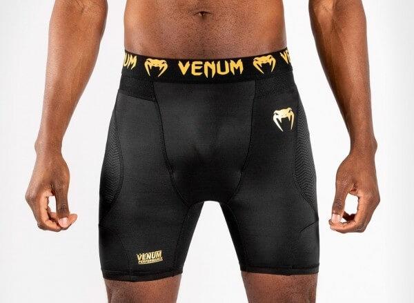 Venum G-Fit Compression Shorts schwarz/gold S