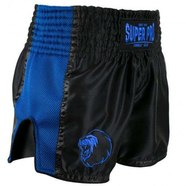 Super Pro Combat Thai- und Kickbox Shorts Brave black/blue