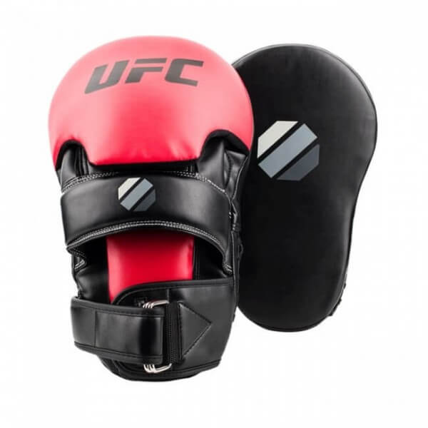 UFC Contender Long Curved Focus Mitt 35x21x15 cm black/red