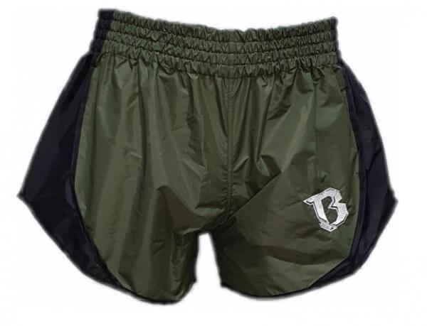 BOOSTER Muay Thai Shorts Hybrid light Military
