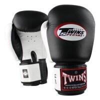 TWINS Boxhandschuhe BGVL-3 schwarz-weiss 10 Oz