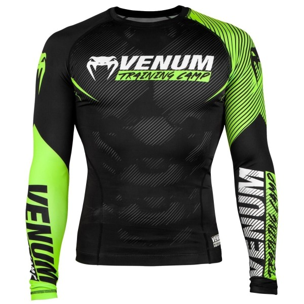 Venum Training Camp 2.0 Rashguard - Long Sleeves L