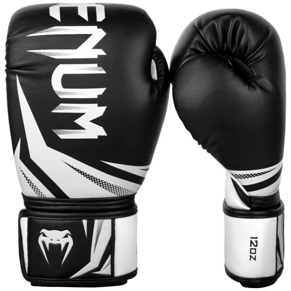 Venum Challenger 3.0 Gloves - Black/White 10oz