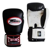 TWINS Boxhandschuh schwarz-weiss 10oz
