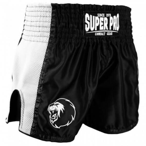 Super Pro Combat Thai- und Kickbox Shorts Brave black/white