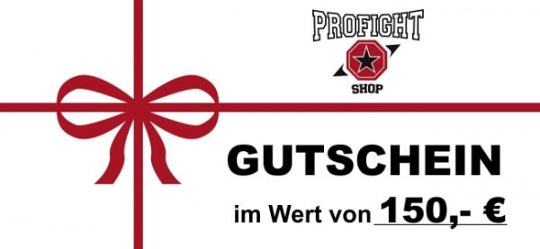 Geschenk-Gutschein - Code 150,- €