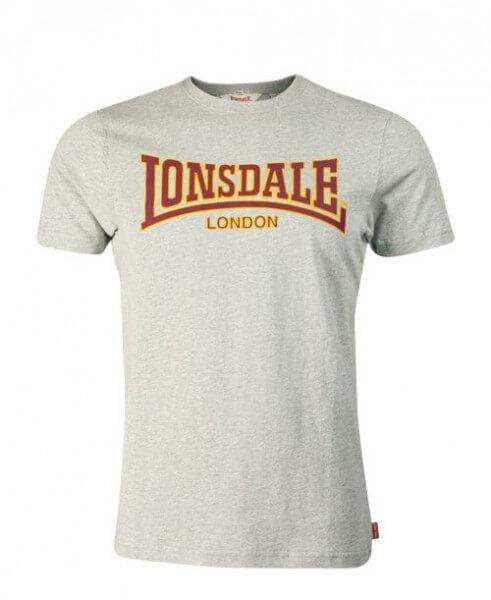 LONSDALE T-Shirt Herren Classic Grey
