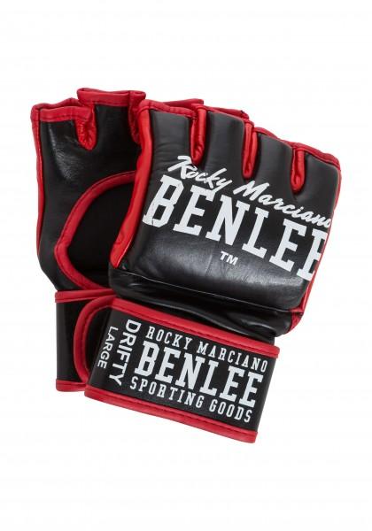 BENLEE MMA Handschuhe Leder Schwarz