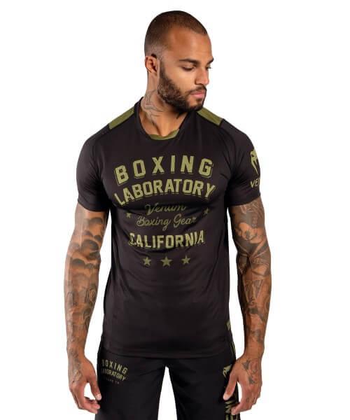 VENUM Boxing Lab Dry Tech Shirt - black/khaki