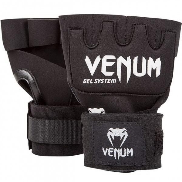 VENUM Gel Bandagen Kontact Gel Glove Wraps Black-White
