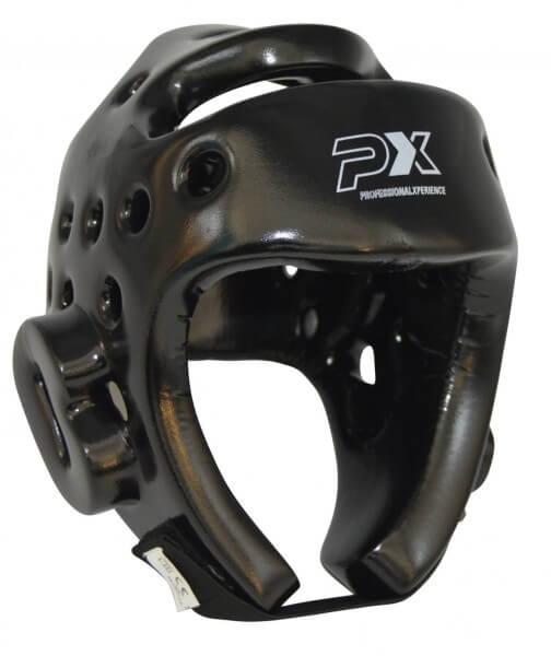 Kopfschutz Kampfsport schwarz PU-Schaumstoff